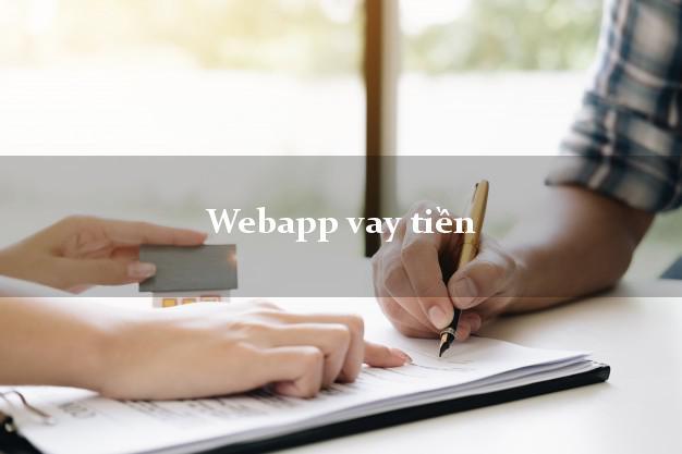 Webapp vay tiền