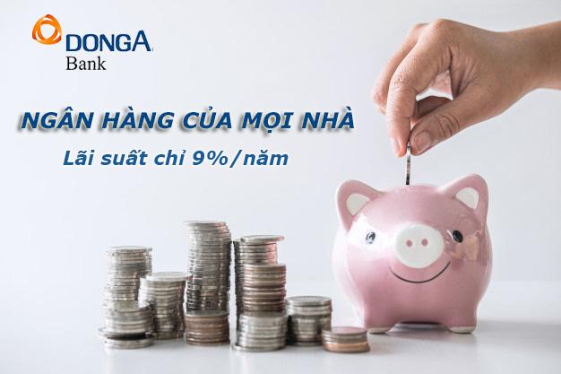 Hướng dẫn vay tiền ngân hàng Đông Á không thế chấp